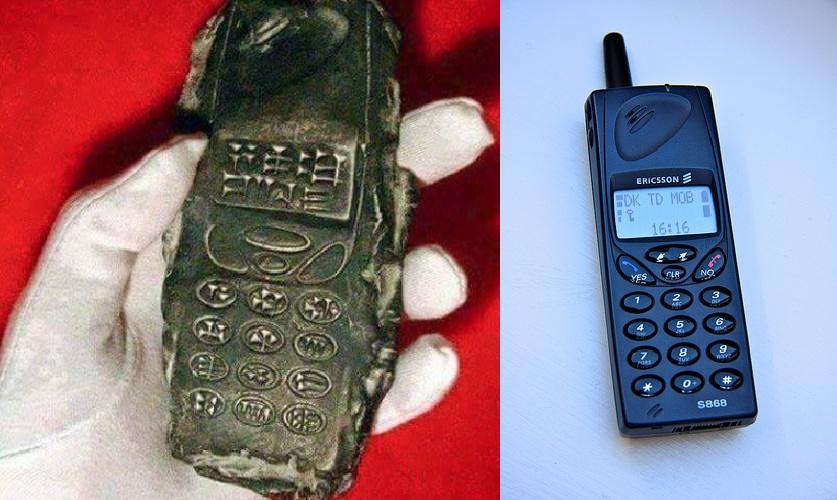 Gazetelere Göre Uzaylıların Getirdiği 800 Yıllık Cep Telefonu Bulundu!