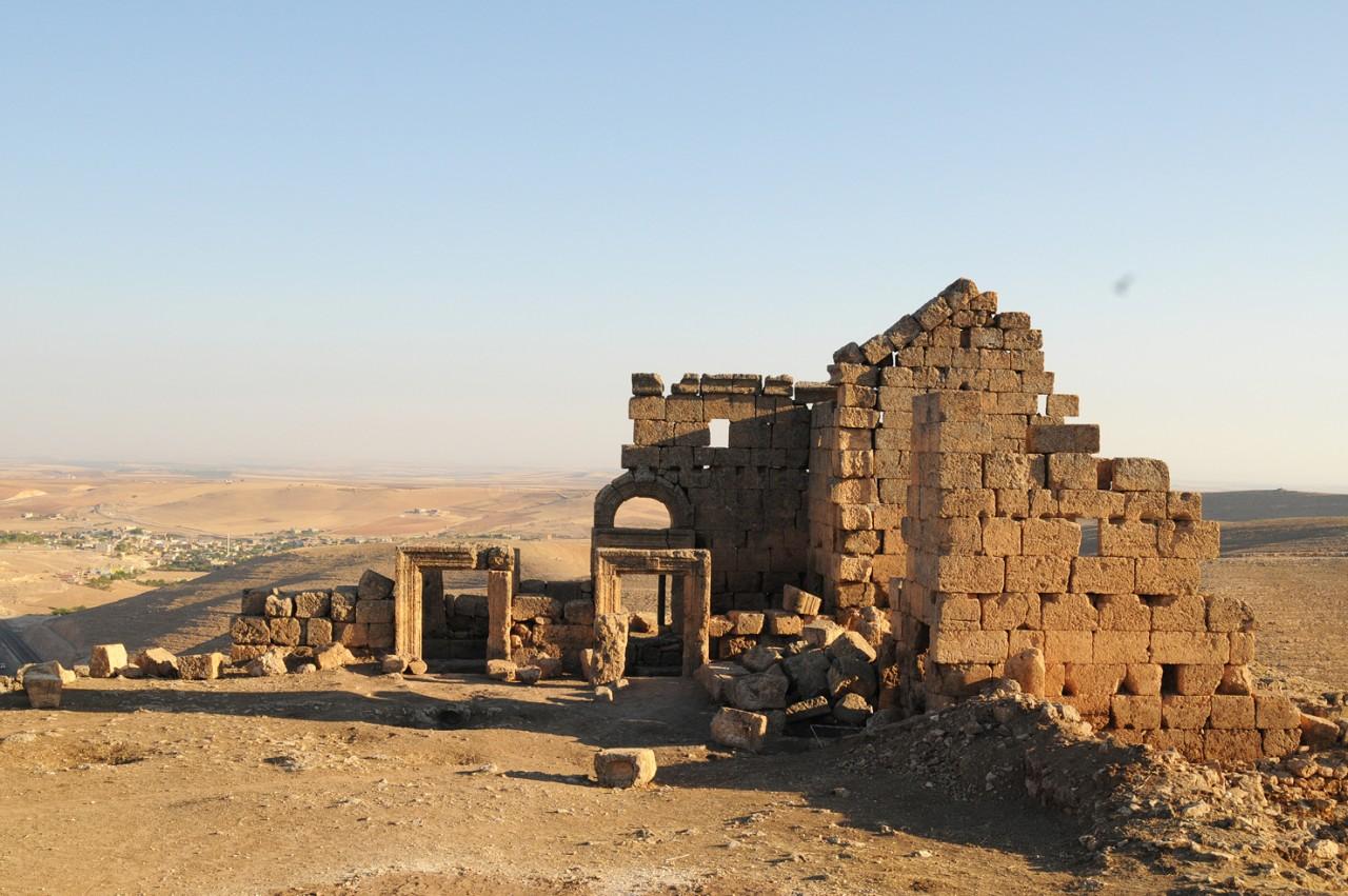 Diyarbakır'daki Zerzevan Kalesi'ne Üç Boyutlu Lazer Tarama Yapıldı