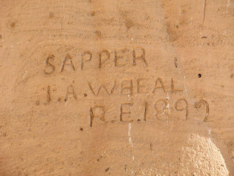 200 Yıl Önce Ramses Tapınağı'na Kazınmış İsimler
