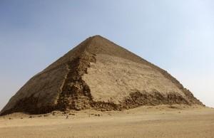 Radyografik Parçacıklar Mısır'daki Eğik Piramit'in Yapımını Aydınlatacak