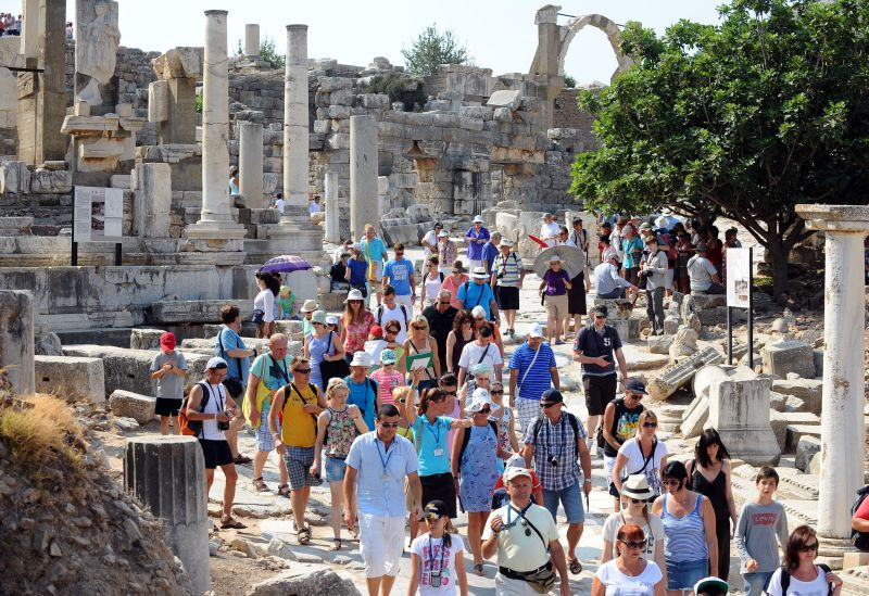 Türkiye'deki Müze ve Örenyeri Ziyaretçi Sayılarında Büyük Düşüş