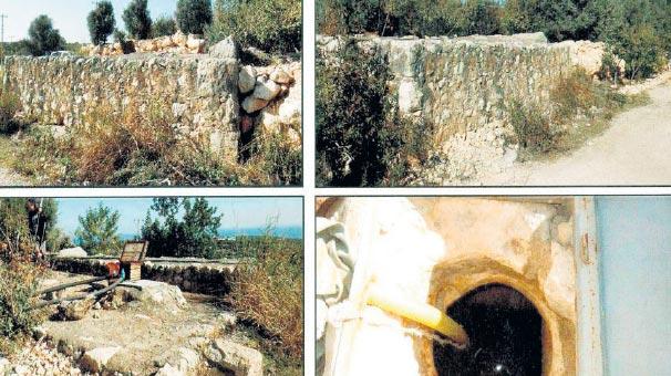 Mersin'de 1600 Yıllık Sarnıç Sulama Borusu Olarak Kullanıldı
