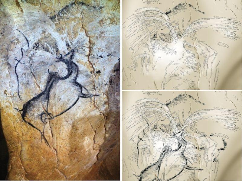 Chauvet Mağarası'nda 36.000 Yıllık Volkanik Patlama Betimi Bulundu