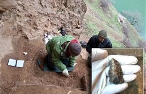Batı İran'da Zagros Dağları'nda Paleolitik Keşifler Yapılıyor