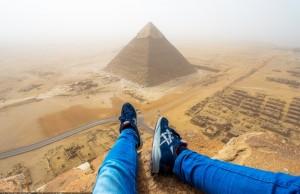 Gize Piramidi'ne Tırmanan Alman'ın Mısır'a Girmesi Yasaklanacak