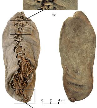Areni-1 ayakkabısı, MÖ. 3500 yılına tarihlendiriliyor.