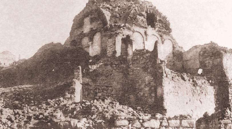 Ankara'daki Son Bizans Yapısı Aziz Klemens Kilisesi Yok Oluyor