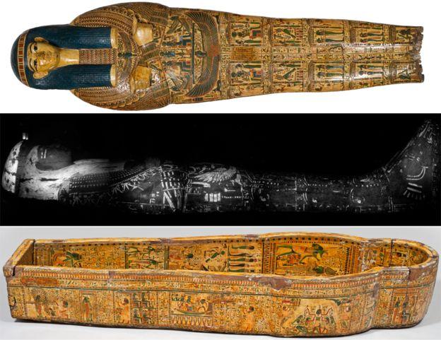 3.000 Yıllık Mısır Tabutunda Parmak İzleri Keşfedildi