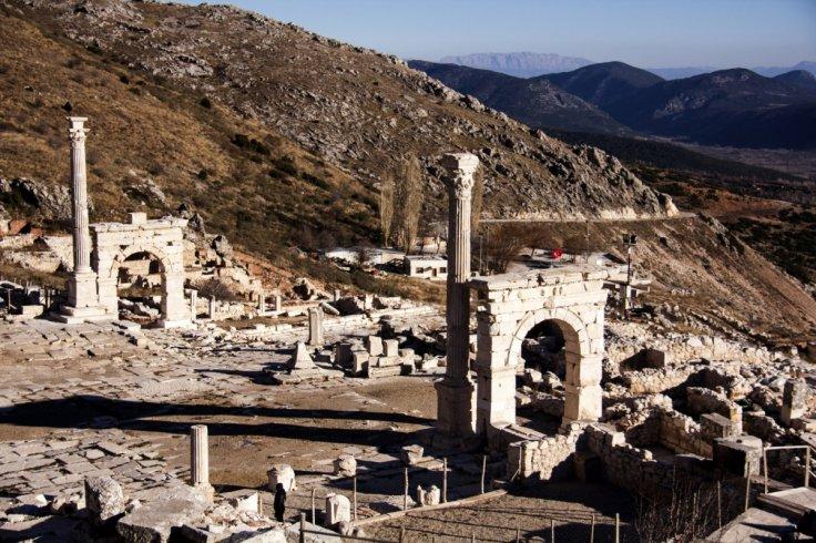 Sagalassos Antik Kenti'nde Kitlesel Göçün İzleri Bulundu