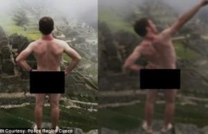 Peru'daki Machu Picchu'da Çıplak Fotoğraf Çeken Turistler Tutuklandı