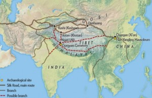 İpek Yolu'nun Tibet'ten Geçen Yeni Bir Kolu Bulundu