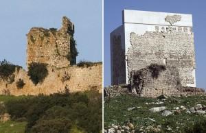 İSpanyadaki bir kalede restorasyon skandalı