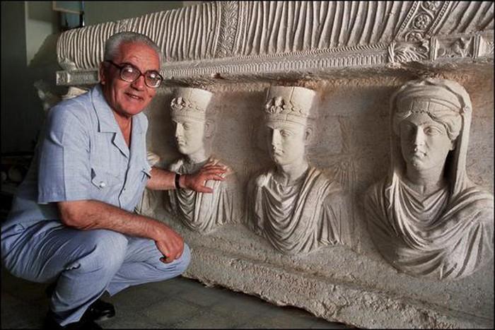 Palmira Antik Kenti'ni Korumak Uğruna Ölen Arkeolog Halid Esad