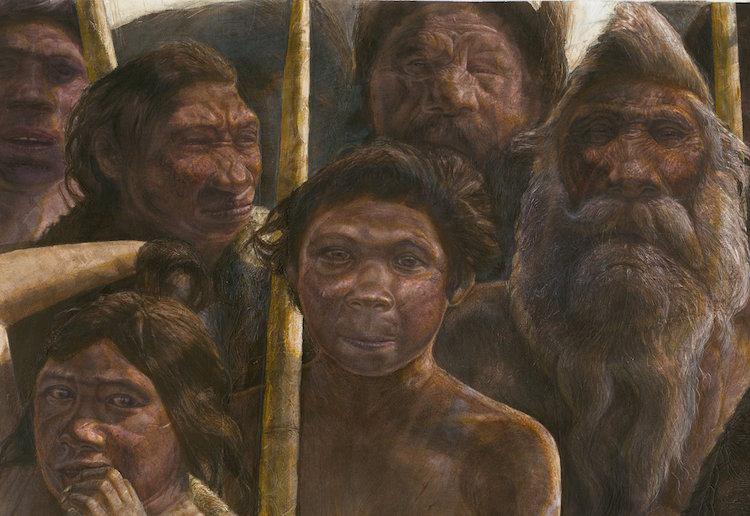 Sima de los Huesos homininleri, yaklaşık 400.000 yıl önce Orta Pleistosen dönemi sırasında yaşamıştı. © Kennis & Kennis, Madrid Scientific Films