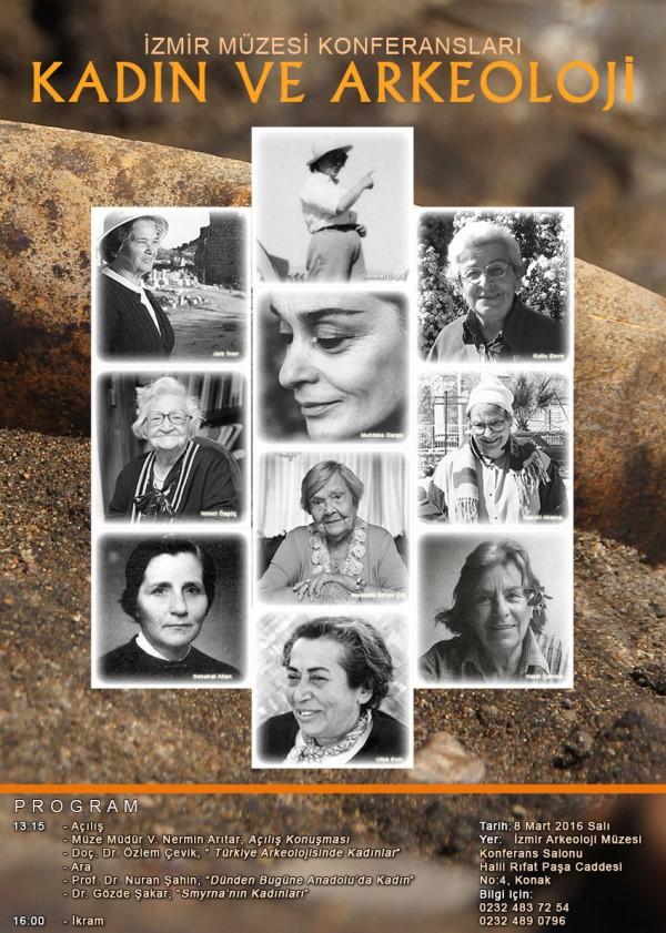 İzmir Müzesi'nde Kadın ve Arkeoloji Konferansı Yapılıyor