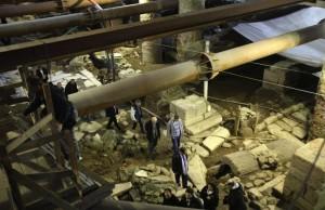 Selanik Metrosu Tarihi Eserlerin Altından Geçecek