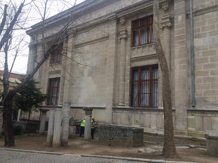 İstanbul Arkeoloji Müzesi Restorasyonunun Bir Kısmı Bitti