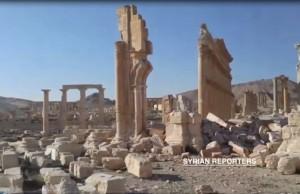 Gizli Kamerayla Çekilen Palmira Görüntüleri Yıkımı Gözler Önüne Seriyor