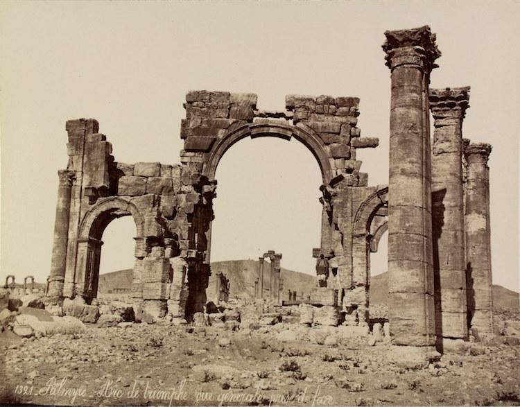 Palmira Antik Kenti'nin 150 Yıllık Fotoğrafları ve Eskizleri
