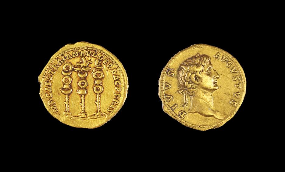 Bugüne Kadar Sadece Tek Örneği Olan Roma Sikkesi Bulundu