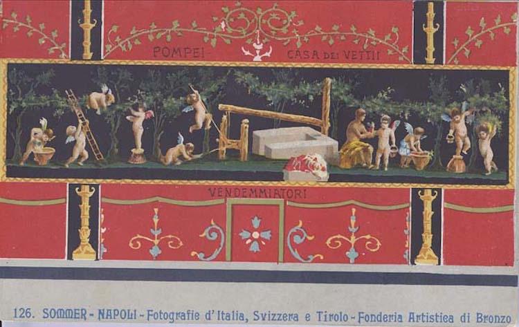 05- roman_f10a_cupidi vendemmiatori, pompei casa dei vettii