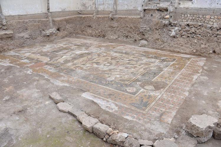 Kahramanmaraş'ta Germanicia Antik Kenti Mozaikleri Ortaya Çıkacak