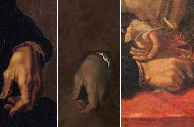 Michelangelo Romatizmalı Ellerle Resim Yapmaya Devam Etti