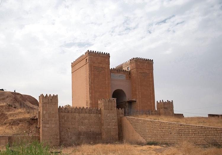 IŞİD 2.000 Yıllık Maşki Kapısını Yok Etti