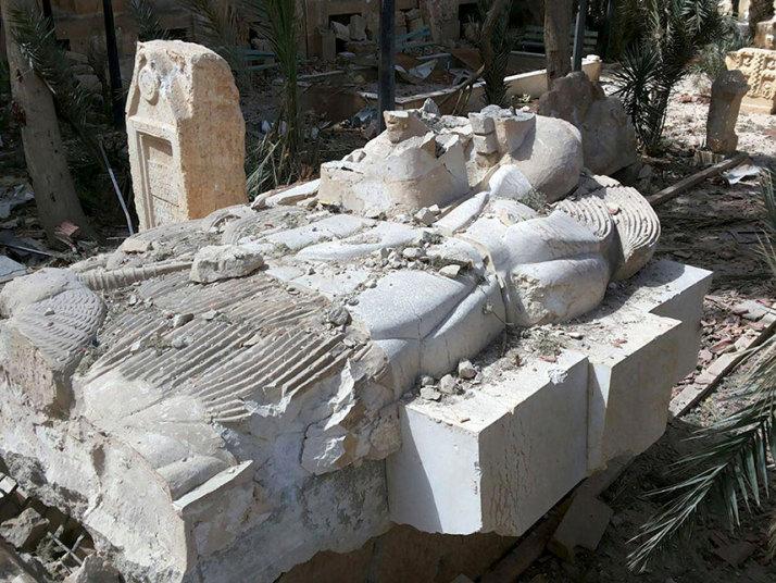 Palmira Antik Kenti'nde Hasar Tespit Çalışmaları Yapıldı
