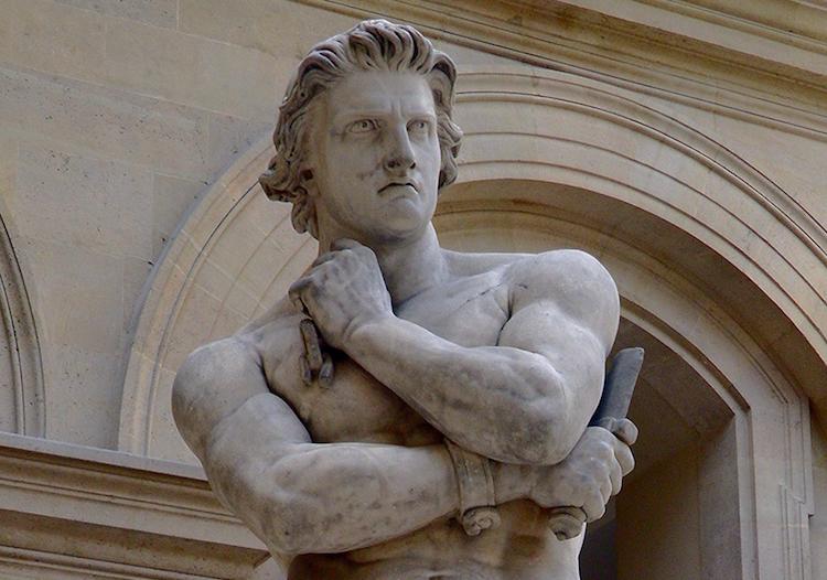 Köleliğe Başkaldıran Gladyatör Spartaküs