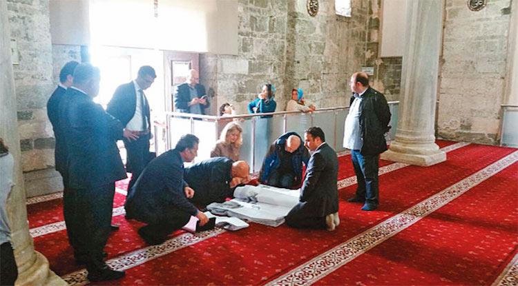 Trabzon'daki Ayasofya'da Yıkım Yaşanıyor