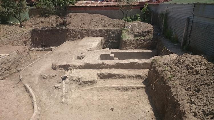 İznik'teki İnşaat Kazısında Romalı Soyluya Ait Hamam Çıktı