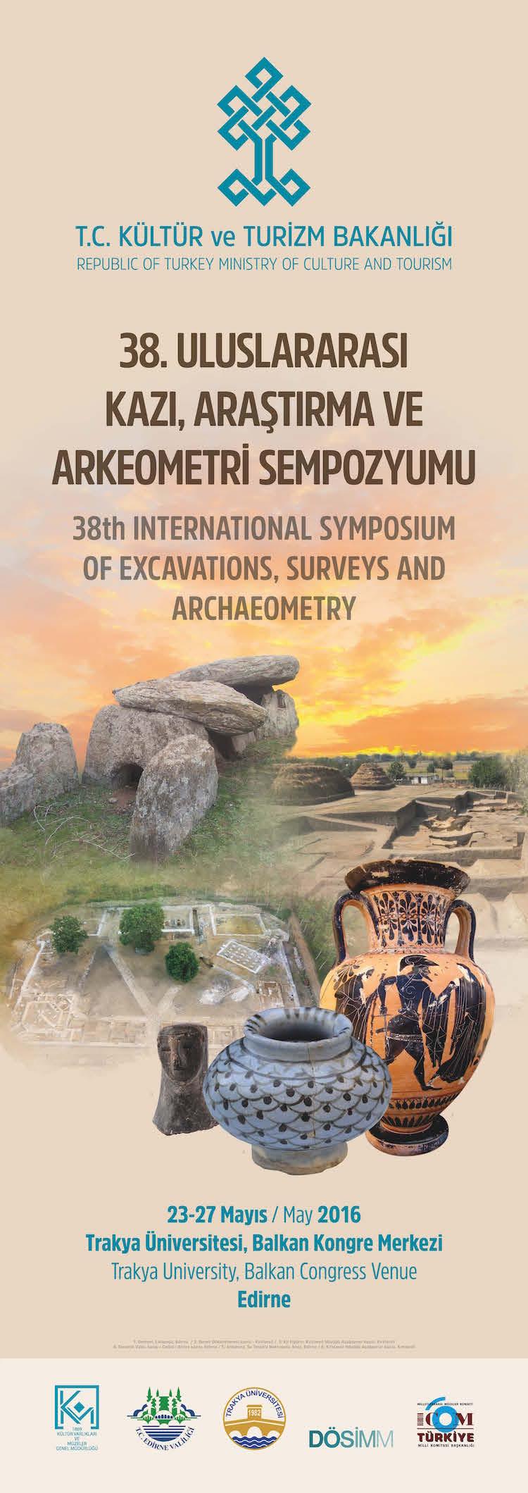 38. Uluslararası Kazı, Araştırma ve Arkeometri Sempozyumu Programı Açıklandı