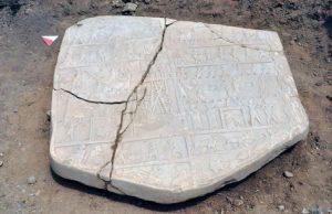 Elazığ'da üzerinde savaş sahnelerinin bulunduğu 2700 yıllık rölyef bulundu.
