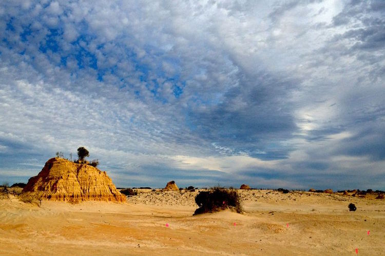 Lake Mungo World Heritage site by Sherene Lambert