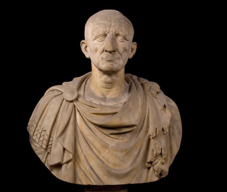 Roma İmparatoru Galba'nın Otricoli'de bulunmuş olan büstü.