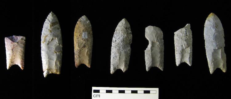 Clovis ucu gibi taş aletlerin arkeolojik kayıtlarda çok sayıda bulunması, arkeologların erkeklerin yaptığı varsayılan avcılık gibi aktivitelerin üzerinde çok durmasına sebep oldu.