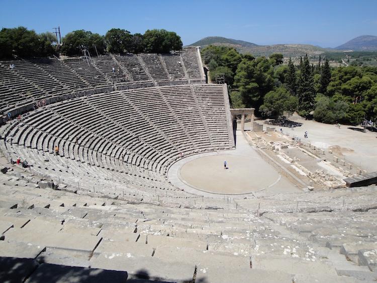 Epidauros tiyatrosu [F: Yunan Kültür Bakanlığı]