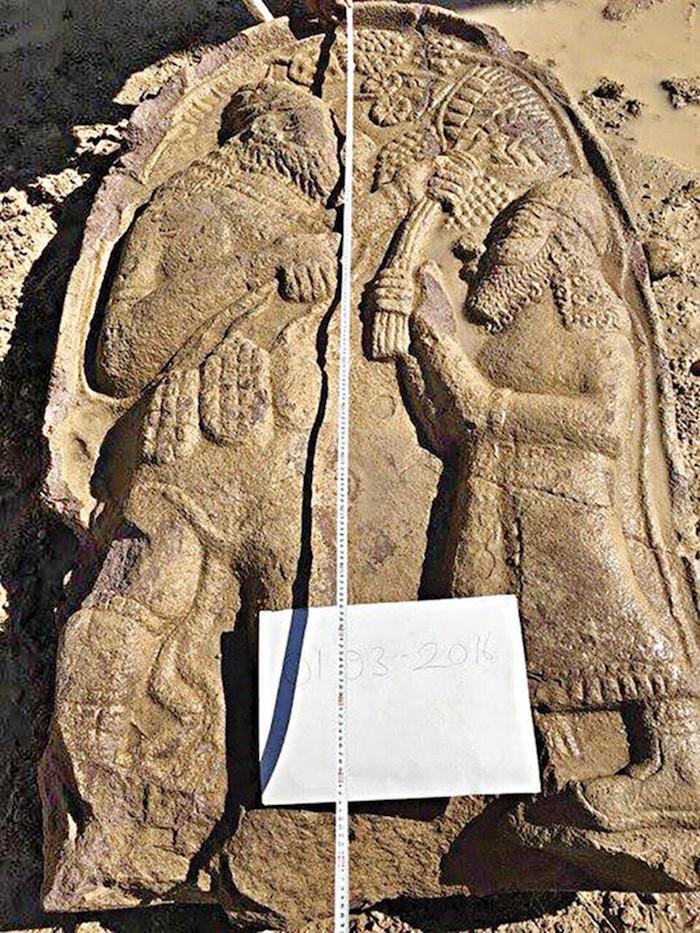 konya'da satıldığı iddia edilen 2700 yıllık stel