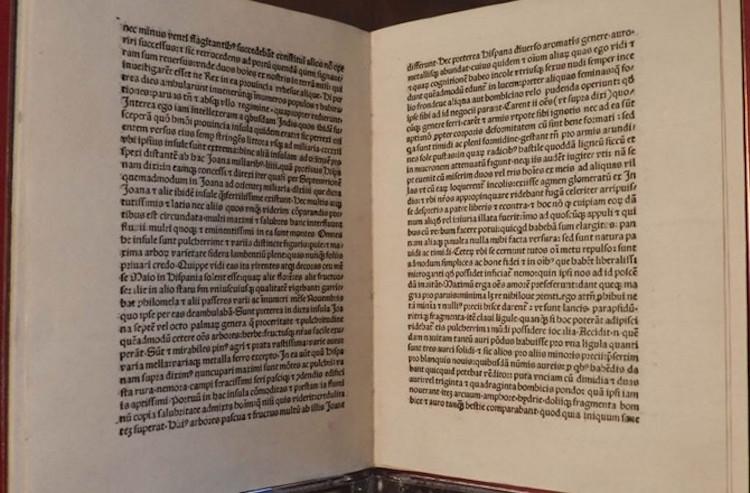 Kristof Kolomb'un Çalınan Mektubu İtalya'ya Geri Döndü