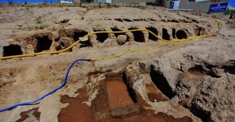 Bodrum'da Bulunan Nekropol İnşaat ve Atık Su Mağduru