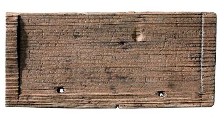 Londra'da 2000 yıllık roma tabletleri deşifre edildi