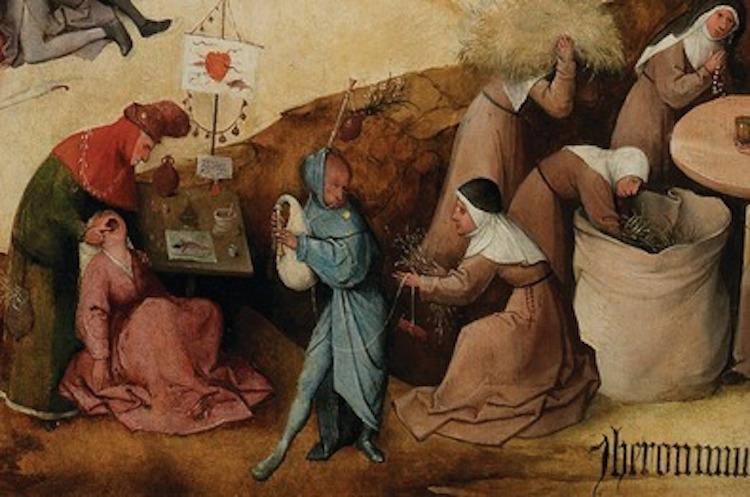 Ressam Bosch'un Gaydayı Hatalı Tutan Figürünün Gizemi Araştırılıyor