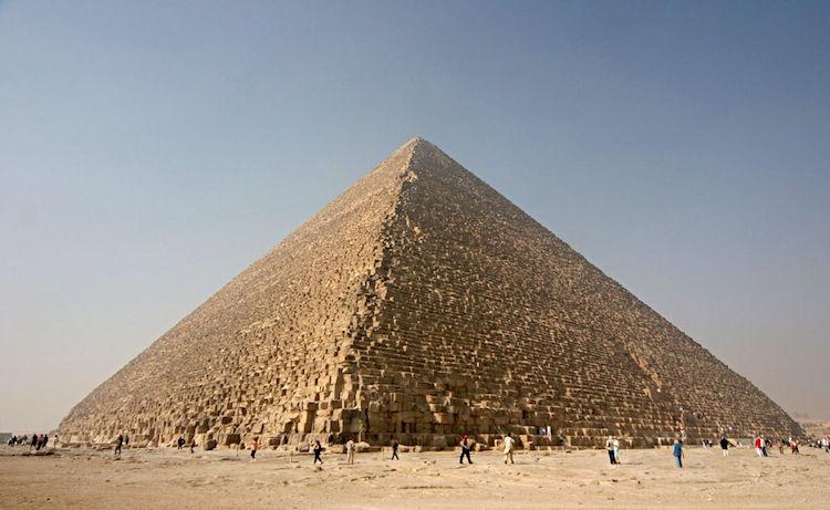4500 yıl önce Khufu için inşa edilen Gize Piramidi. F: Nina Aldin Thune.