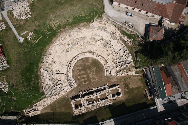 Teselya'daki Larissa Antik Tiyatrosu 2000 Yıl Sonra Halka Açıldı