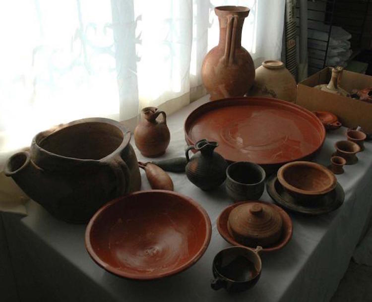 aigai antik kenti'nde özel yemek yakımı bulundu