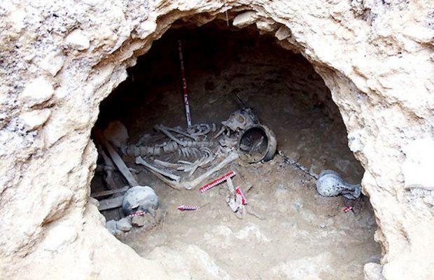 İran'da Part İmparatorluğu Dönemine Ait Mezarlar Keşfedildi   Arkeofili