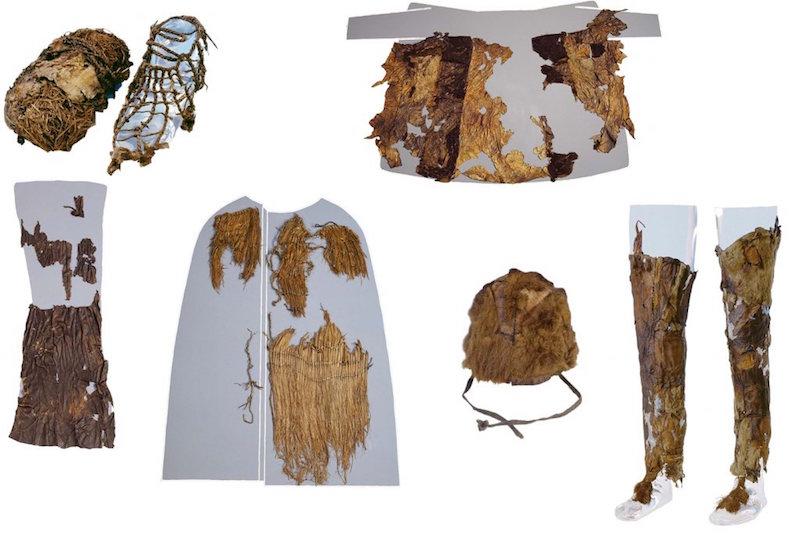 Buzadam Ötzi'nin Kıyafetleri Beş Farklı Hayvan Derisinden Yapılmış
