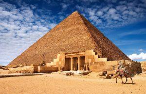 antik piramitler infografik