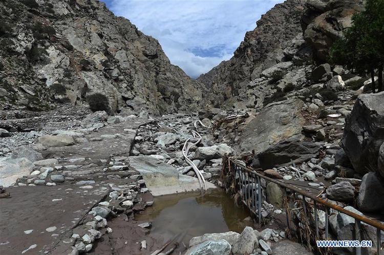 Çin'de Tarih Öncesi Kaya Resimleri Sel Kurbanı